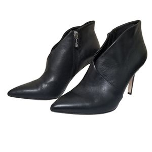 Jessica Simpson Leather Pointy-toe Booties 7